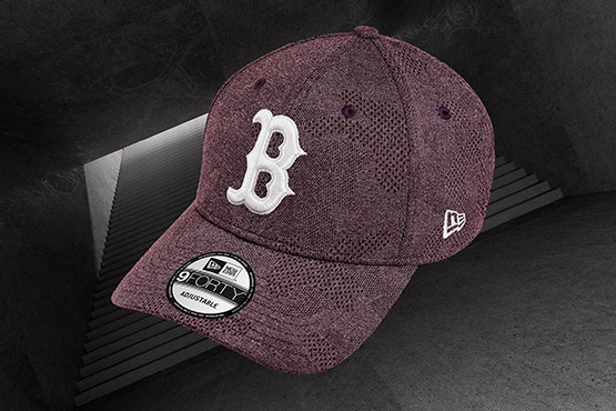 Boston Red Sox Engineered Plus 9FORTY, granate