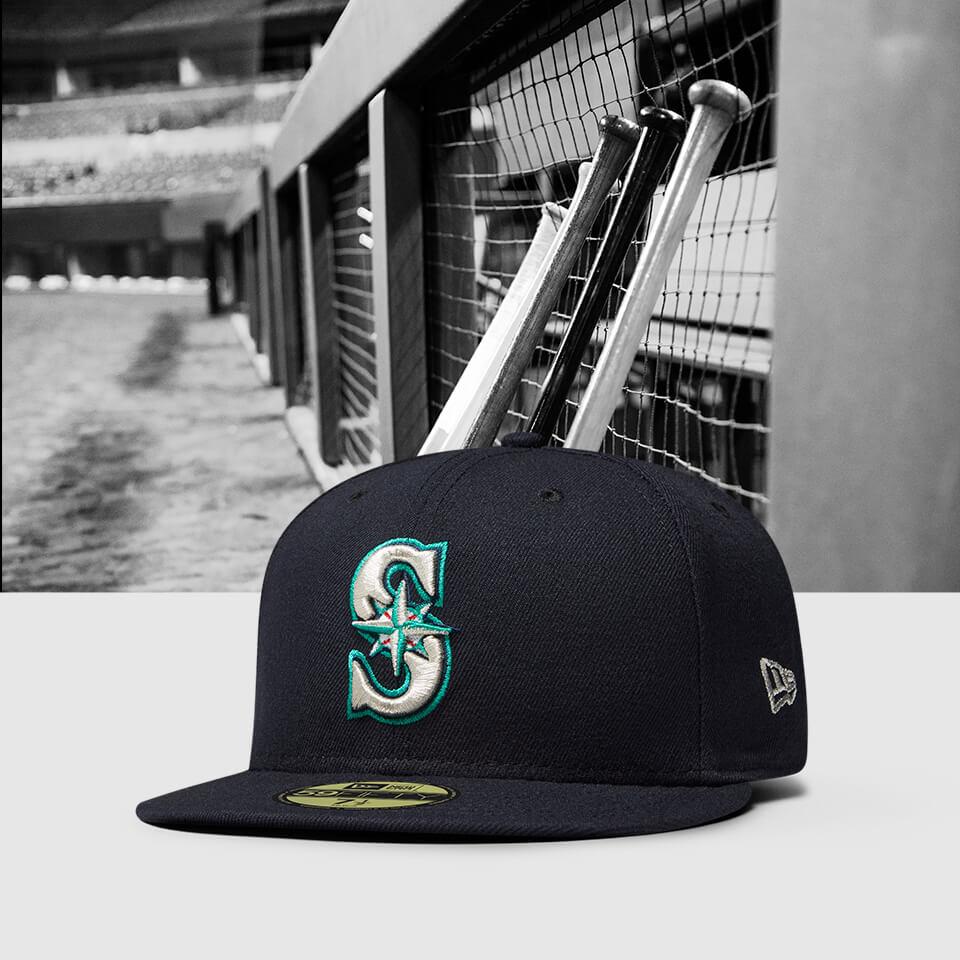 Chapeau ajusté New Era Seattle Mariners 59FIFTY