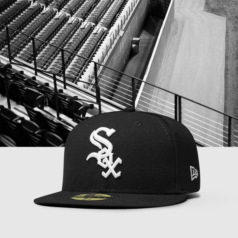 Chapeau ajusté New Era Chicago White Sox 59FIFTY