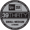 39THIRTY VISOR STICKER