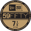 59FIFTY VISOR STICKER
