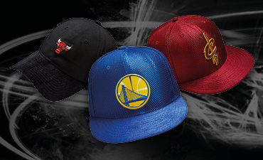NBA Draft Cleveland Cavallers, Golden State Warriors, Chicago Bulls 59FIFTY On-Court Basketball Cap