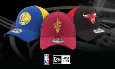 Gorras y gorros On Court oficiales de la NBA