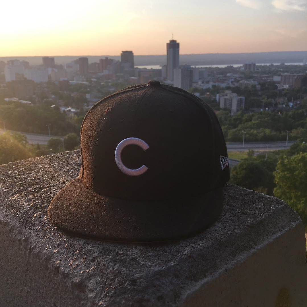 New Era Black Cubs 59FIFTY Fitted