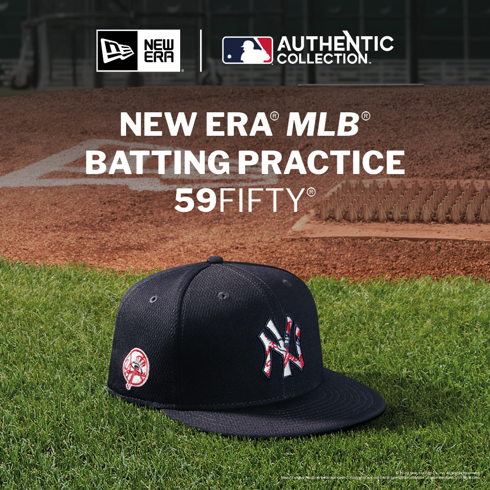 The Official MLB Batting Practice Cap