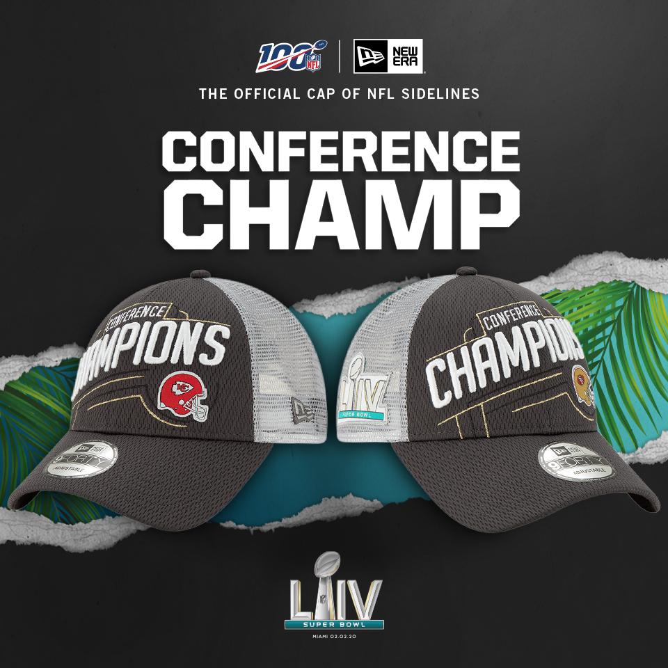 Super Bowl LIV Conference Champs shoppen