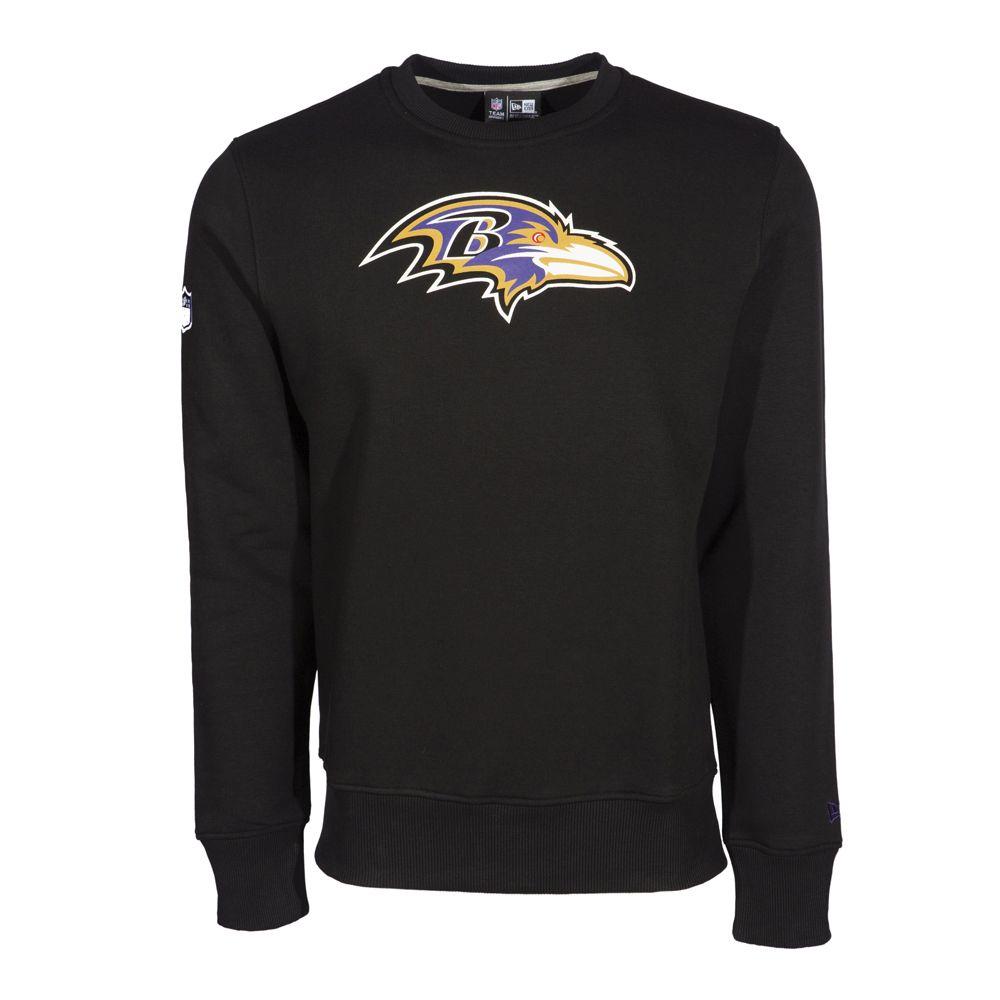 Sweat ras du cou Baltimore Ravens avec logo de l'équipe