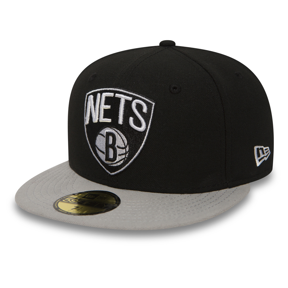 Brooklyn Nets Essential 59FIFTY, negro