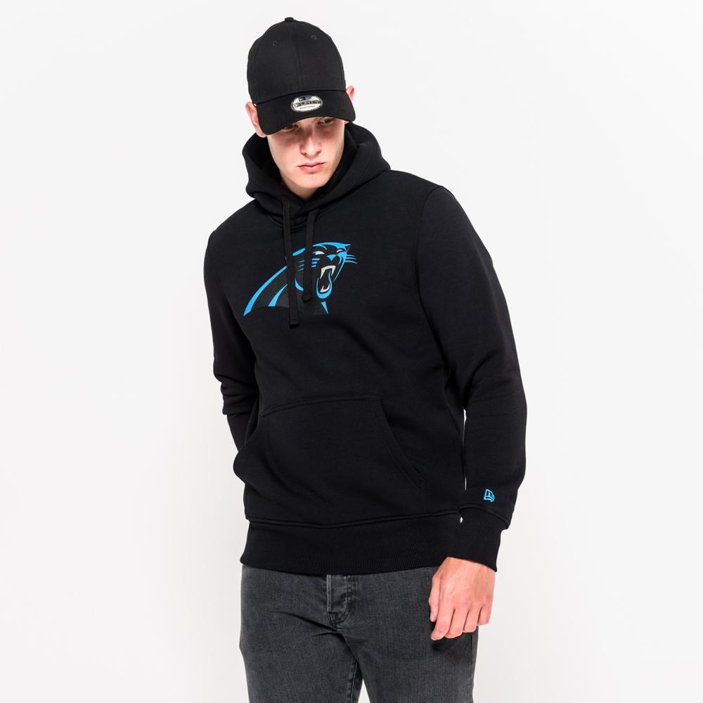 Carolina Panthers Pullover Team Logo Hoodie   New Era Cap Co.
