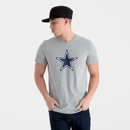 Dallas Cowboys – T-Shirt in Grau mit Teamlogo