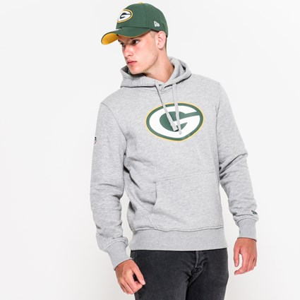 cheap for discount 73220 f82c1 Green Bay Packers Pullover Team Logo Hoodie   New Era