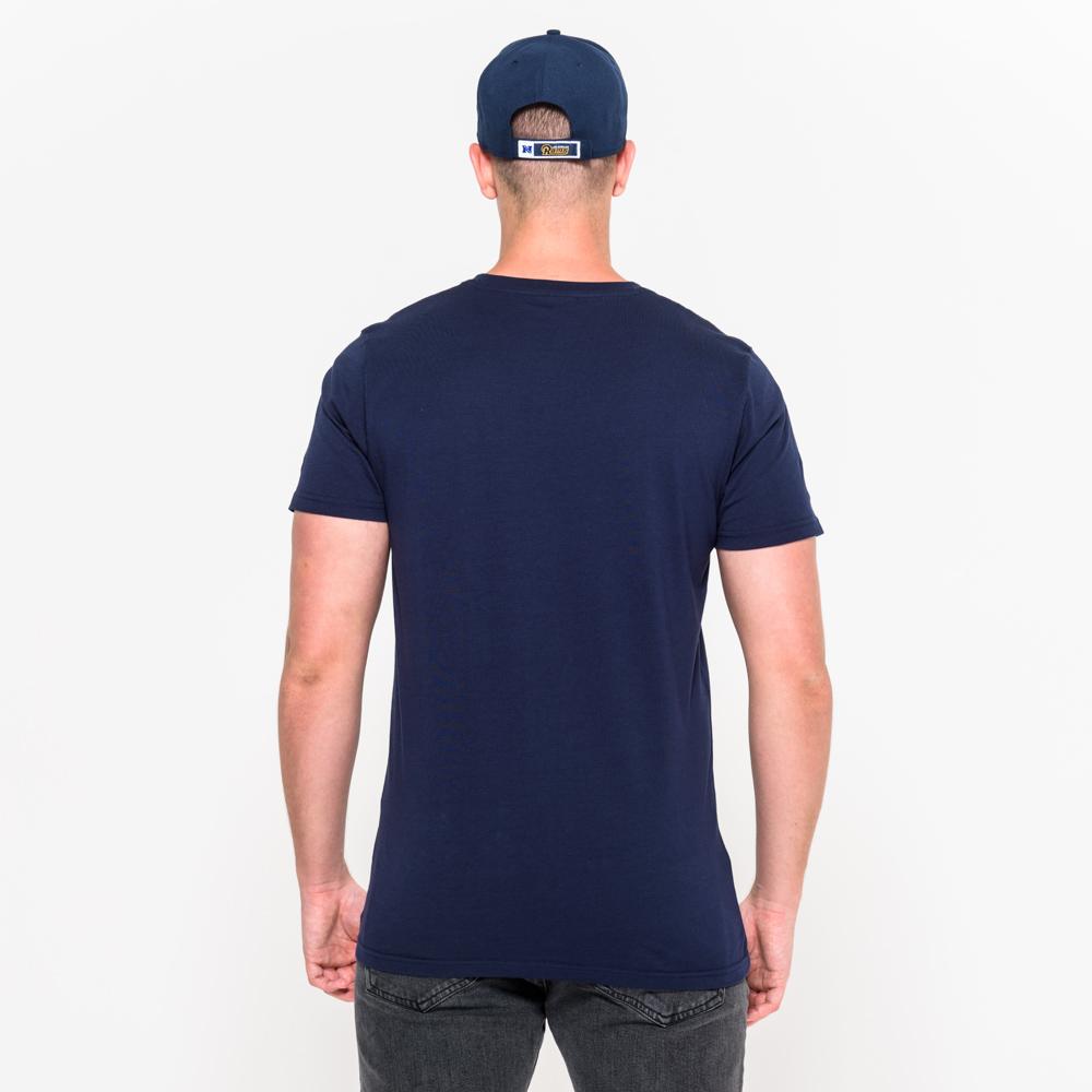 Los angeles rams team logo tee new era for Los angeles t shirt company
