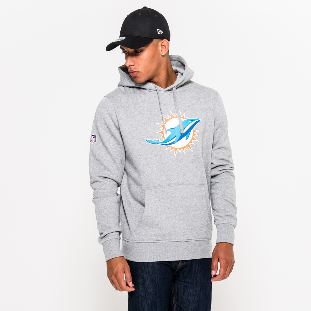 Miami Dolphins Pullover Team Logo Hoodie