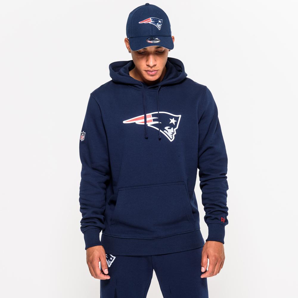 New England Patriots – Hoodie mit Teamlogo – Blau