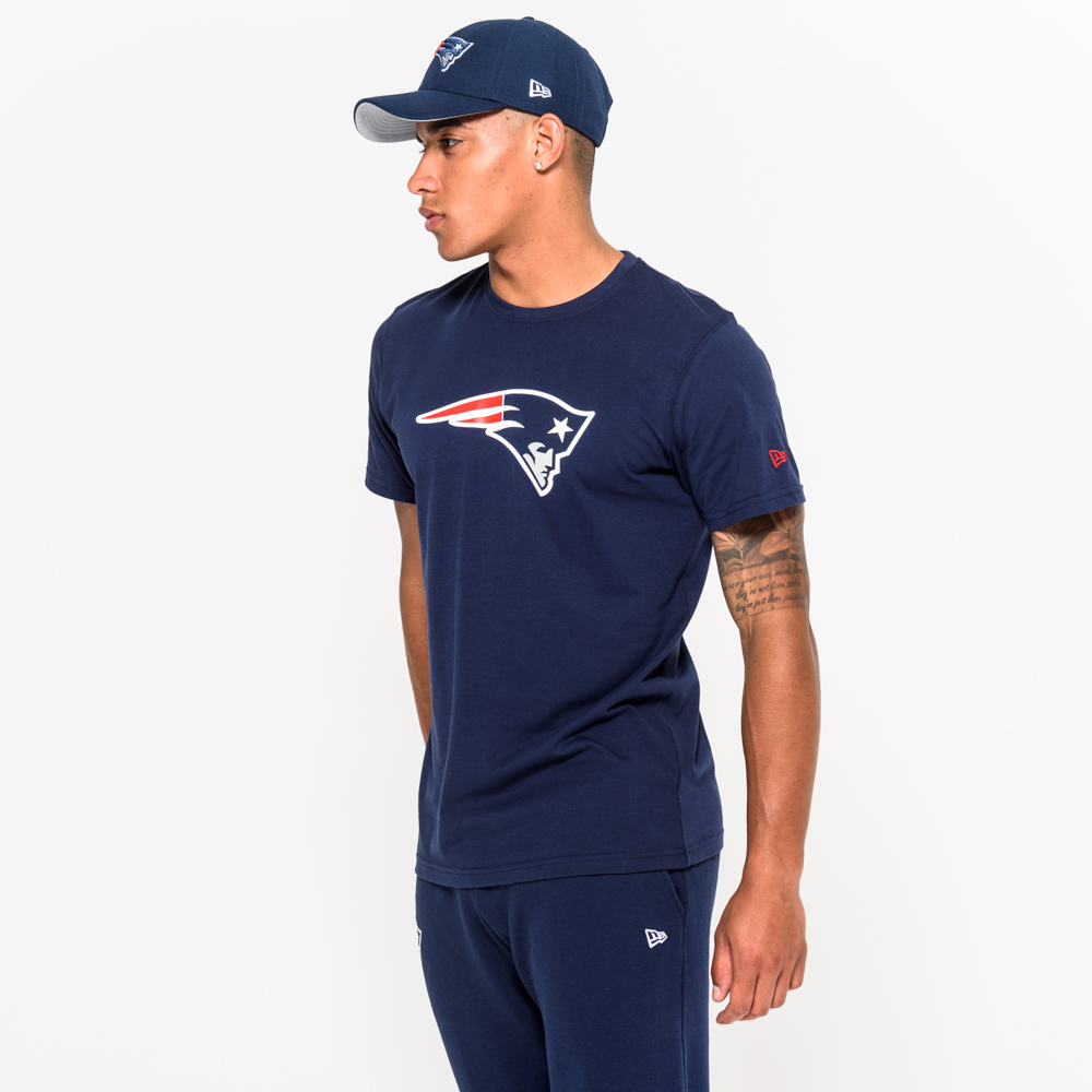 New England Patriots – T-Shirt mit Teamlogo – Blau