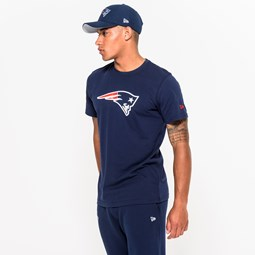 New England Patriots Team Logo Blue Tee