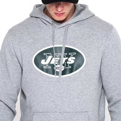 NY Jets Pullover Team Logo Hoodie