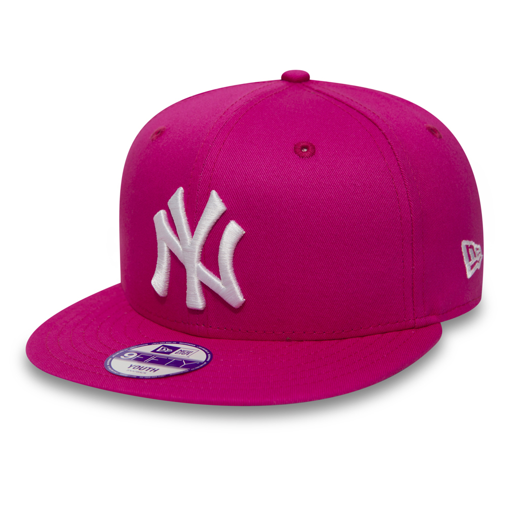 NY Yankees Essential 9FIFTY niño, rosa