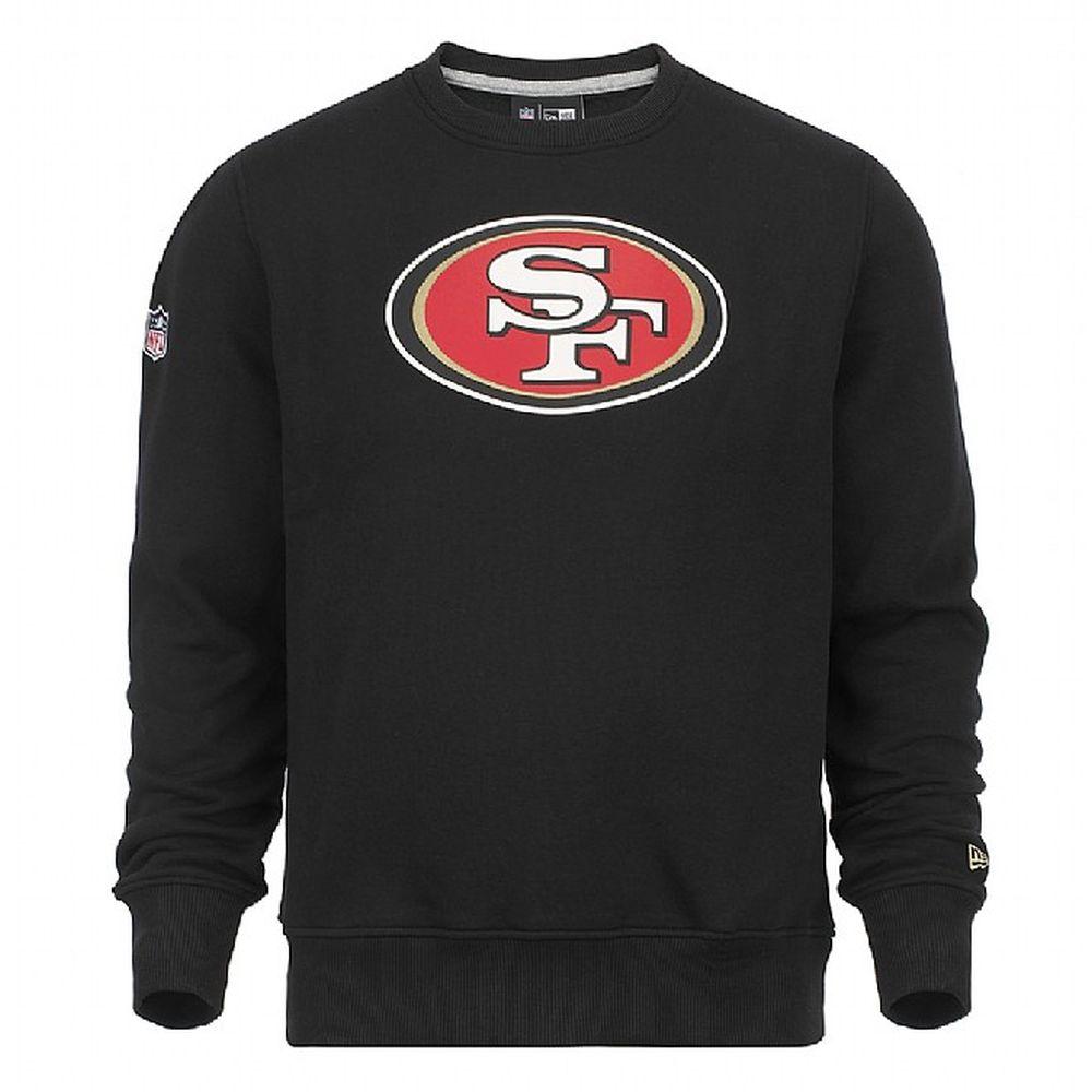 San Francisco 49ers – Rundhalsoberteil mit Teamlogo – Schwarz