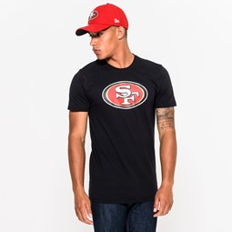 San Francisco 49ers Team Logo Black Tee