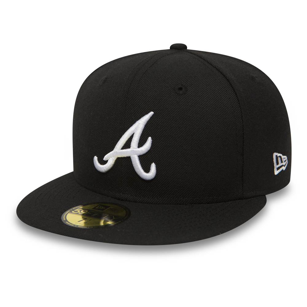 Atlanta Braves Essential 59FIFTY, negro