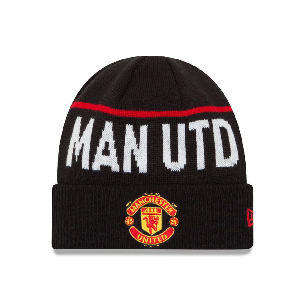 Bonnet à revers Manchester United Meshes