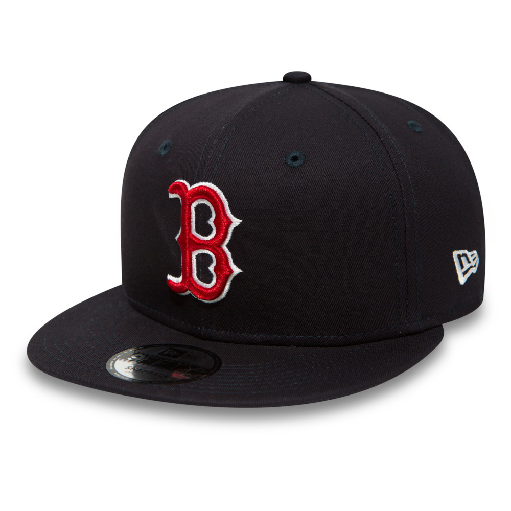 Boston Red Sox Essential 9FIFTY Navy Snapback