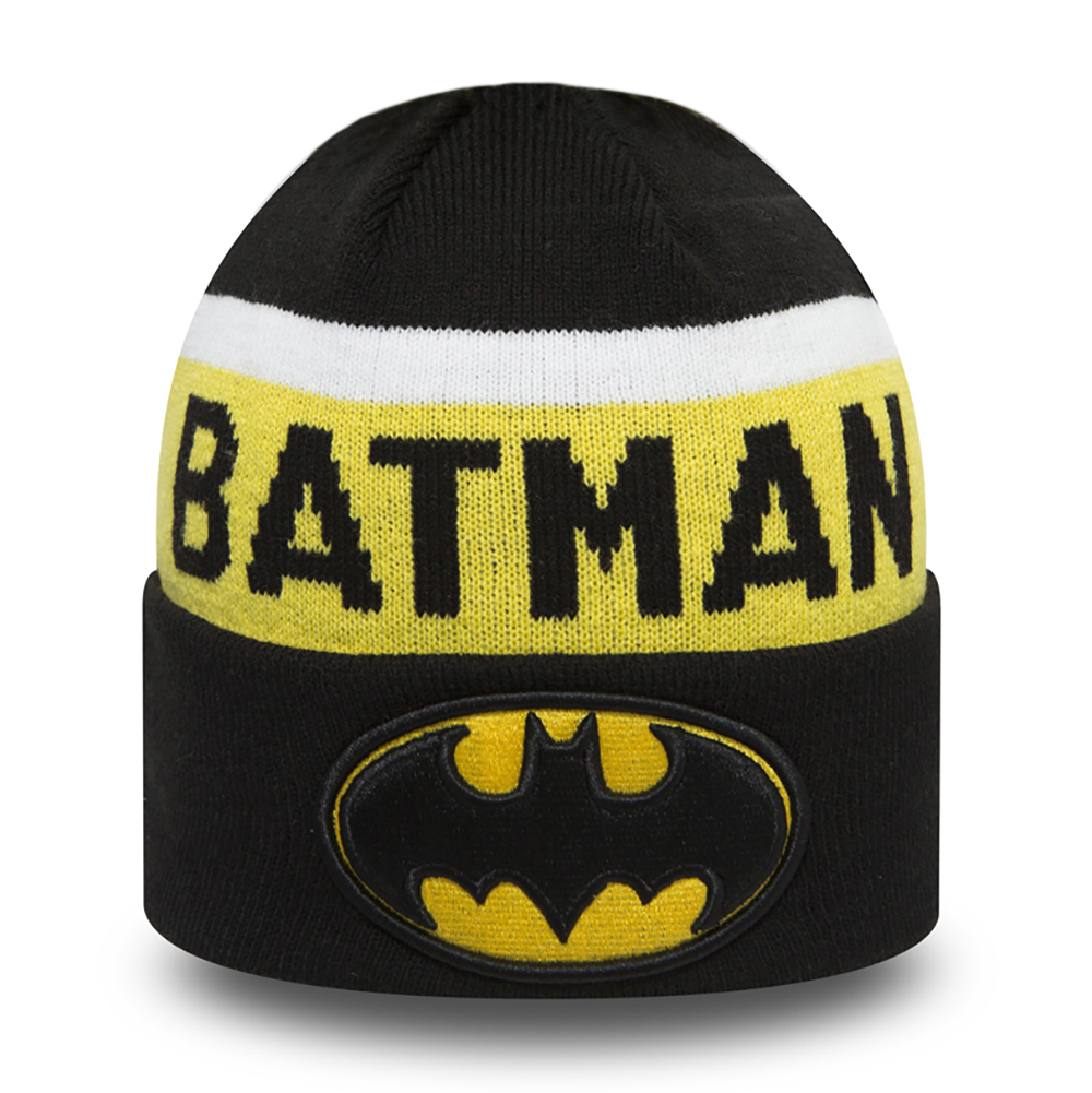 b8e265d87c812 Gorro de punto con vuelta Batman Team Jake My First niño