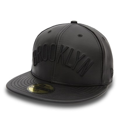 Brooklyn Nets Leather Tone 59FIFTY