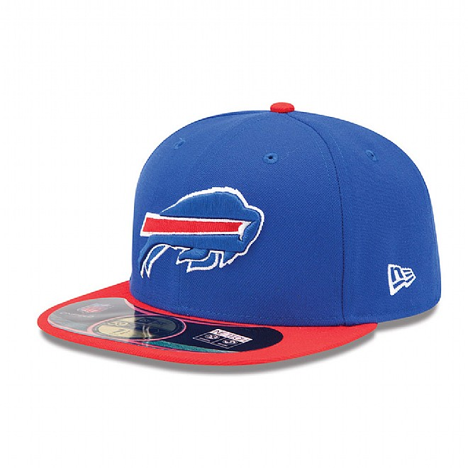 Buffalo Bills Authentic On-Field 59FIFTY