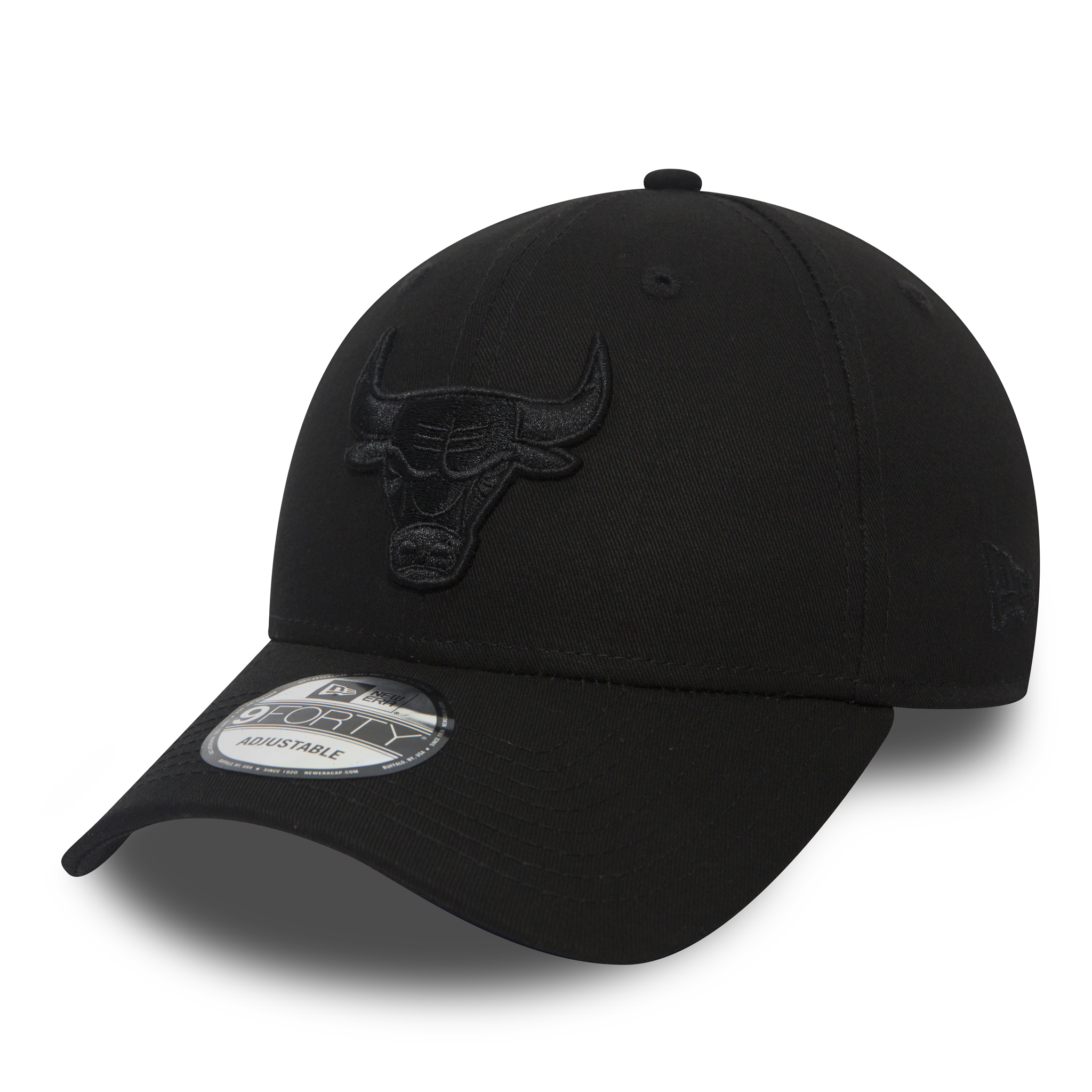 9FORTY – Chicago Bulls – Black on Black