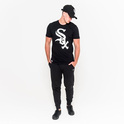 Chicago White Sox Logo Black Tee