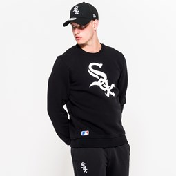 Chicago White Sox – Rundhals-Sweatshirt in Schwarz mit Teamlogo