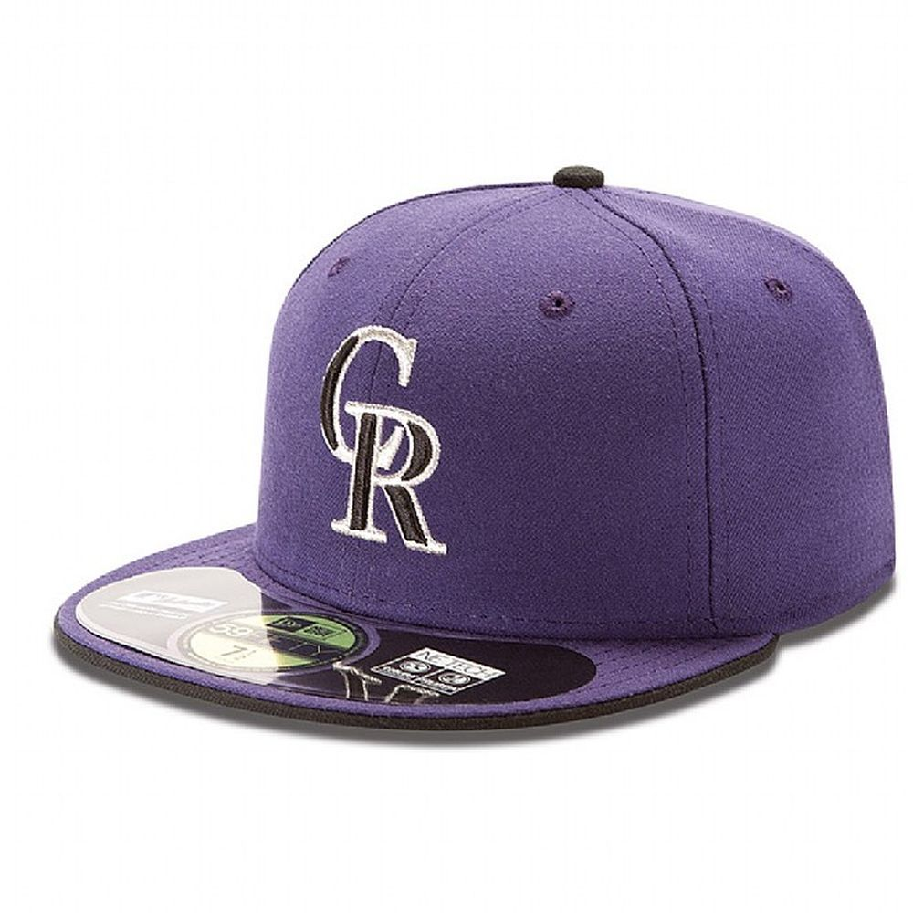 Colorado Rockies Authentic Authentic On-Field Alternative 2 59FIFTY ee9daff98ddb