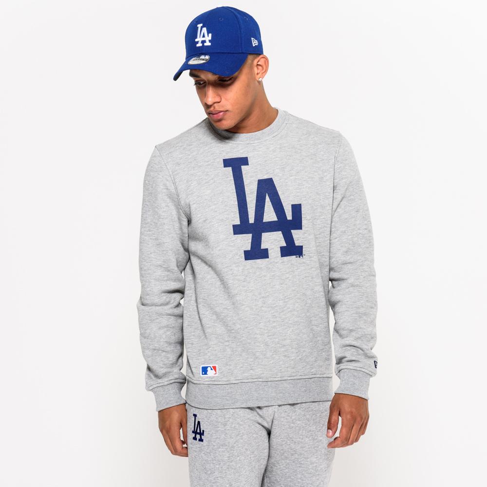Felpa girocollo grigia dei LA Dodgers