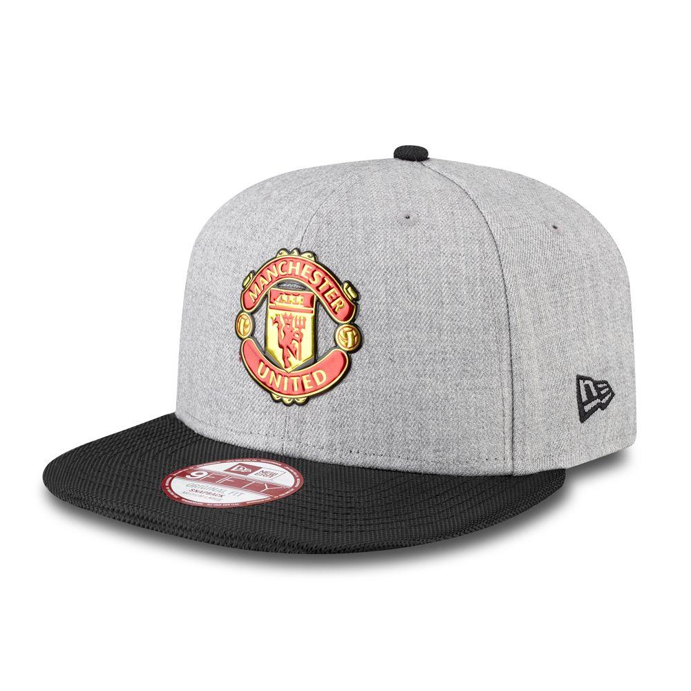 Manchester United 9FIFTY Snapback mit Logo aus flüssigem Chrom