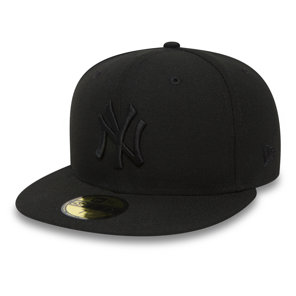NY Yankees Black on Black 59FIFTY