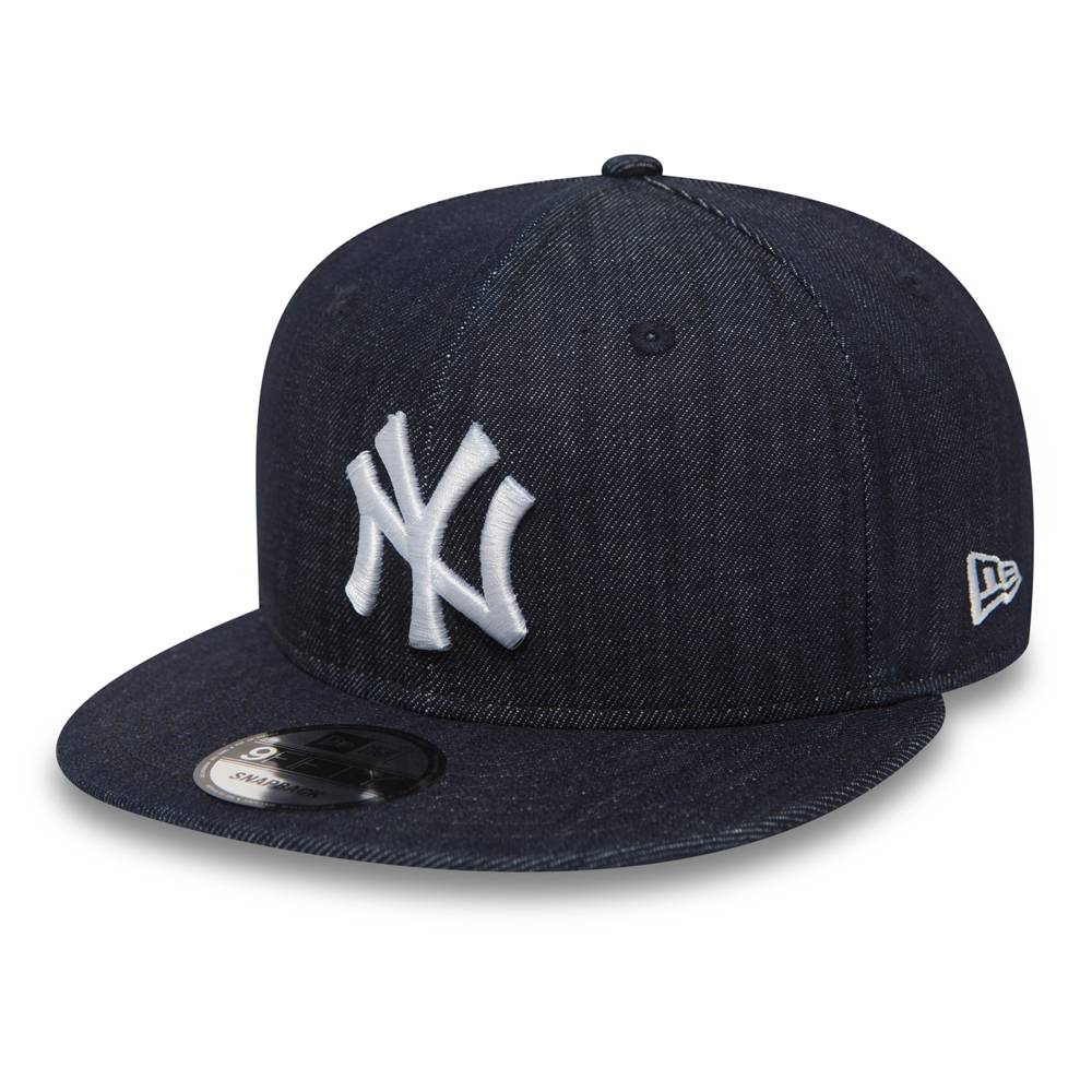 ab652a019a0 NY Yankees Essential Denim 9FIFTY Blue Snapback