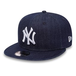 NY Yankees Essential Denim Kids 9FIFTY Blue Snapback