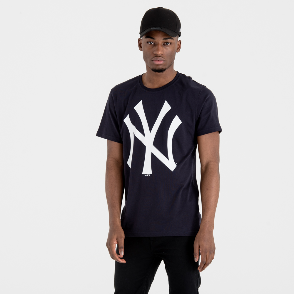 NY Yankees – T-Shirt – Marineblau