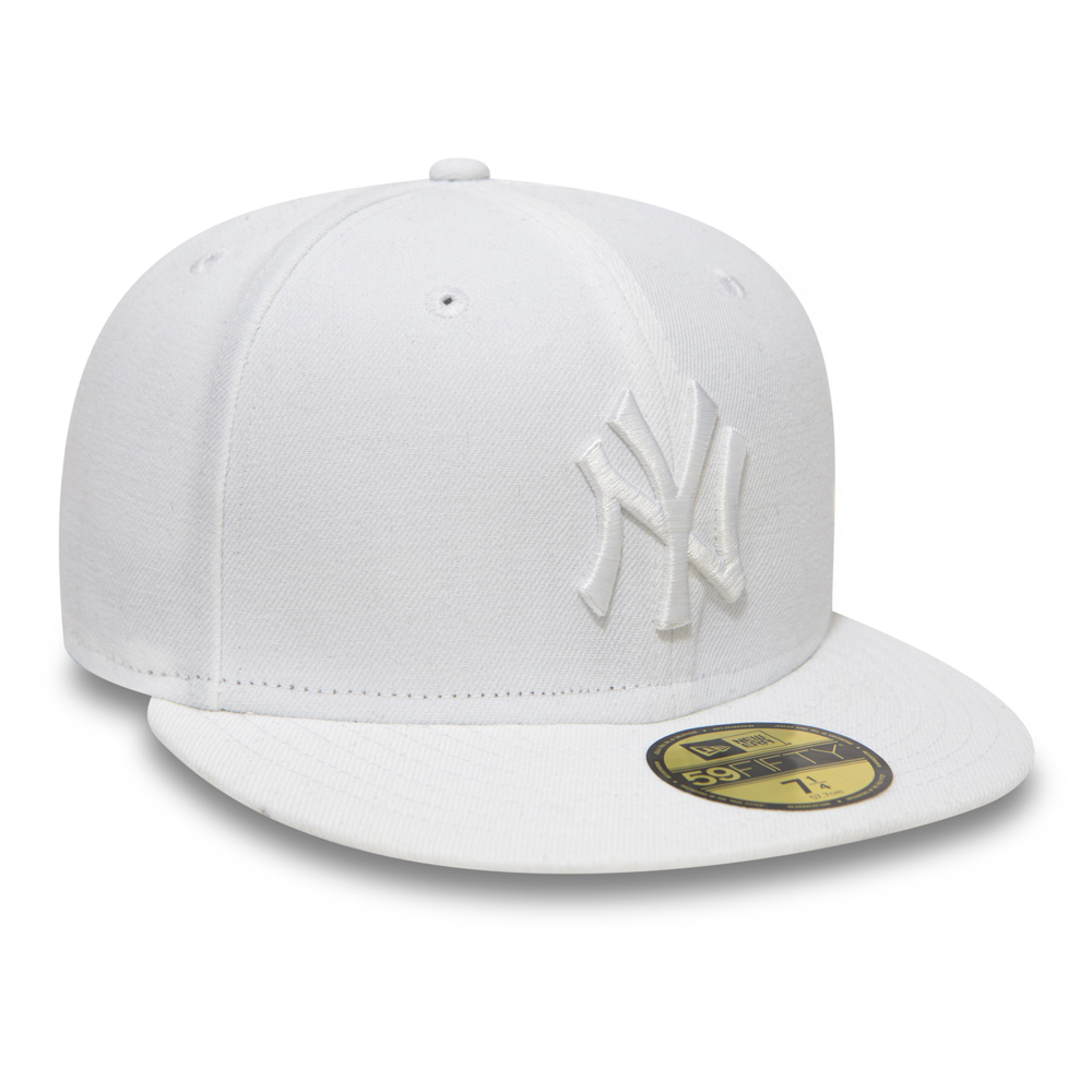 wholesale dealer a372f 26ded cheapest new york yankees optic white 59fifty fitted baseball cap new era  mlb 1 d9a8e b20b4  buy ny yankees white on white 59fifty 9fba3 2df39