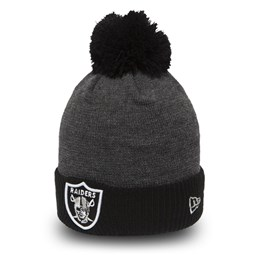 8259aad9775 Oakland Raiders Pop Bobble Cuff Kids Knit