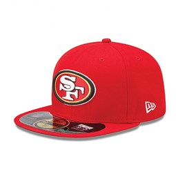 San Francisco 49ers Authentic On-Field Game 59FIFTY 03df92d6f