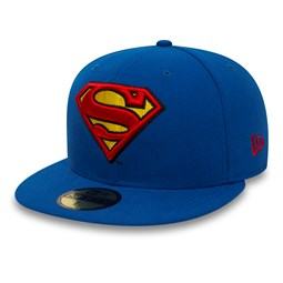 Casquette 59FIFTY  Superman Character Essential bleue