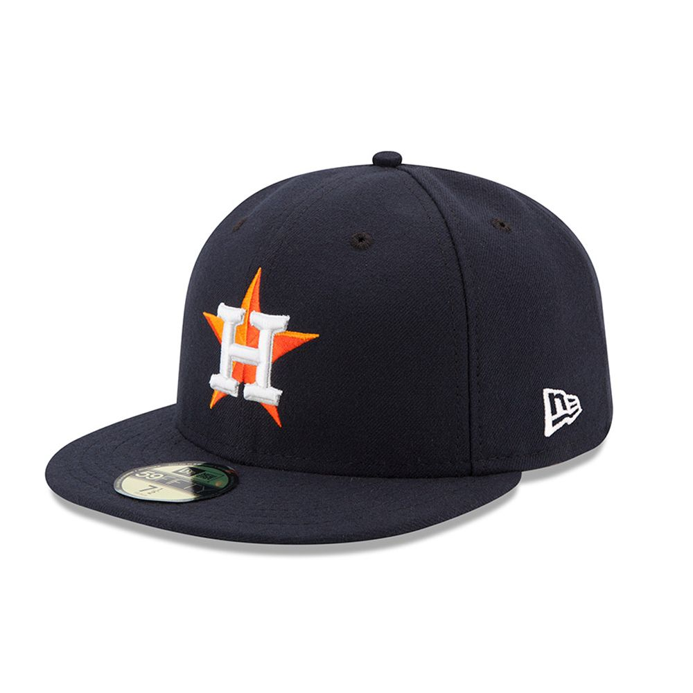 b3a48aa1fb2ab Houston Astros Authentic On-Field Home 59FIFTY azul marino