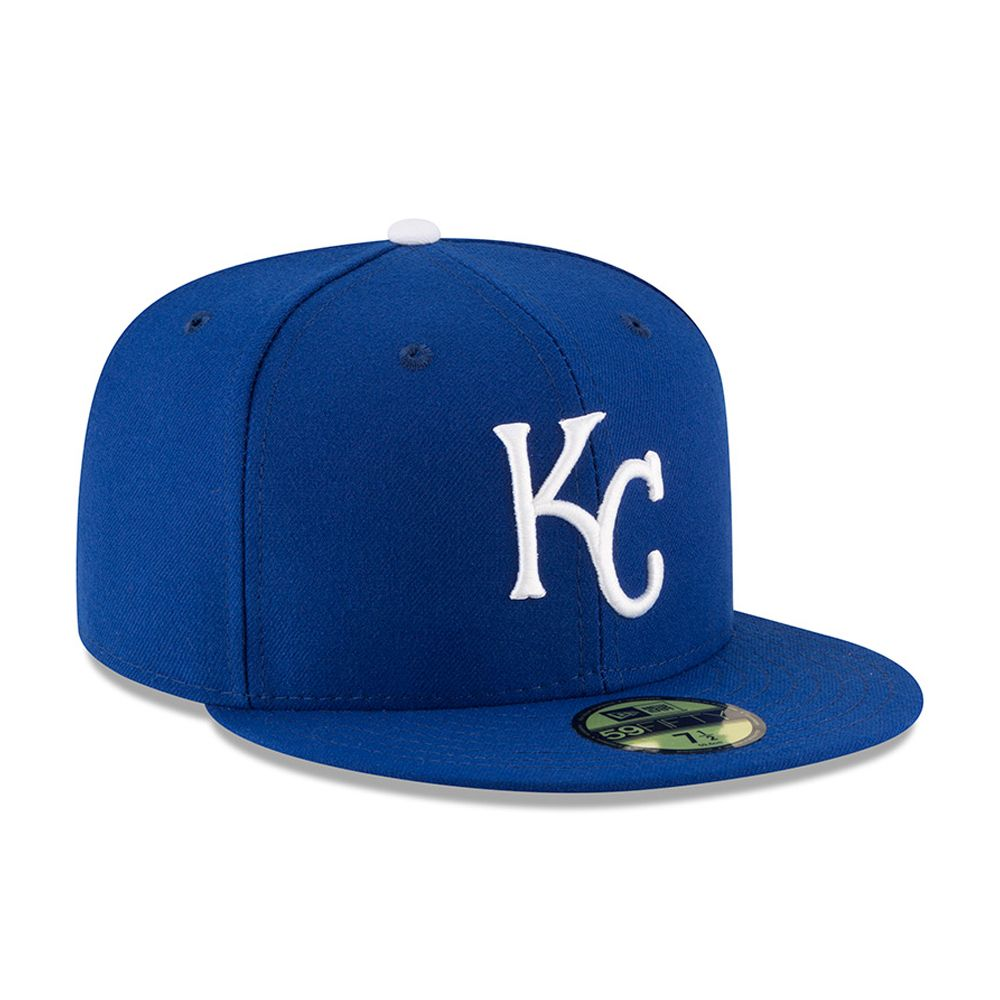 Kansas City Royals Authentic On-Field Game 59FIFTY azul