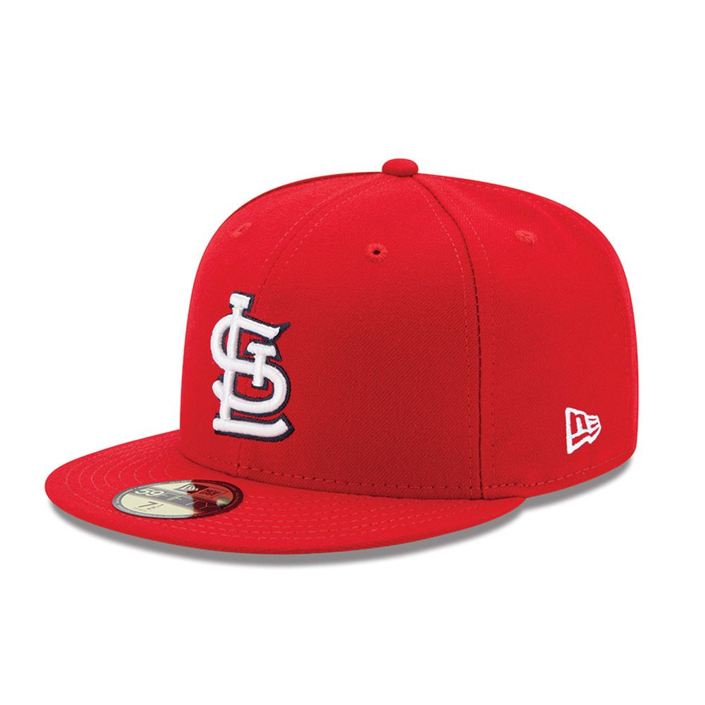59FIFTY – St. Louis Cardinals – Authentic On-Field Game – Rot