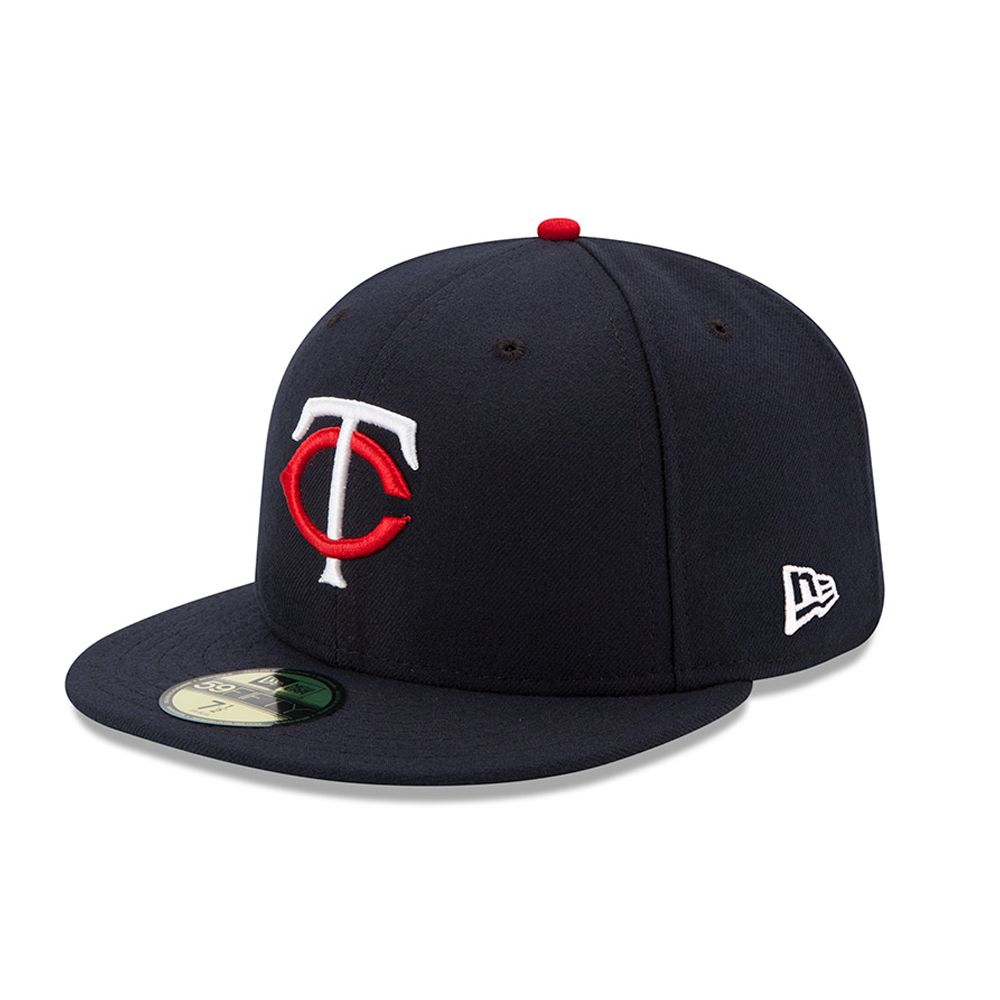 Minnesota Twins Authentic On-Field Home 59FIFTY blu navy