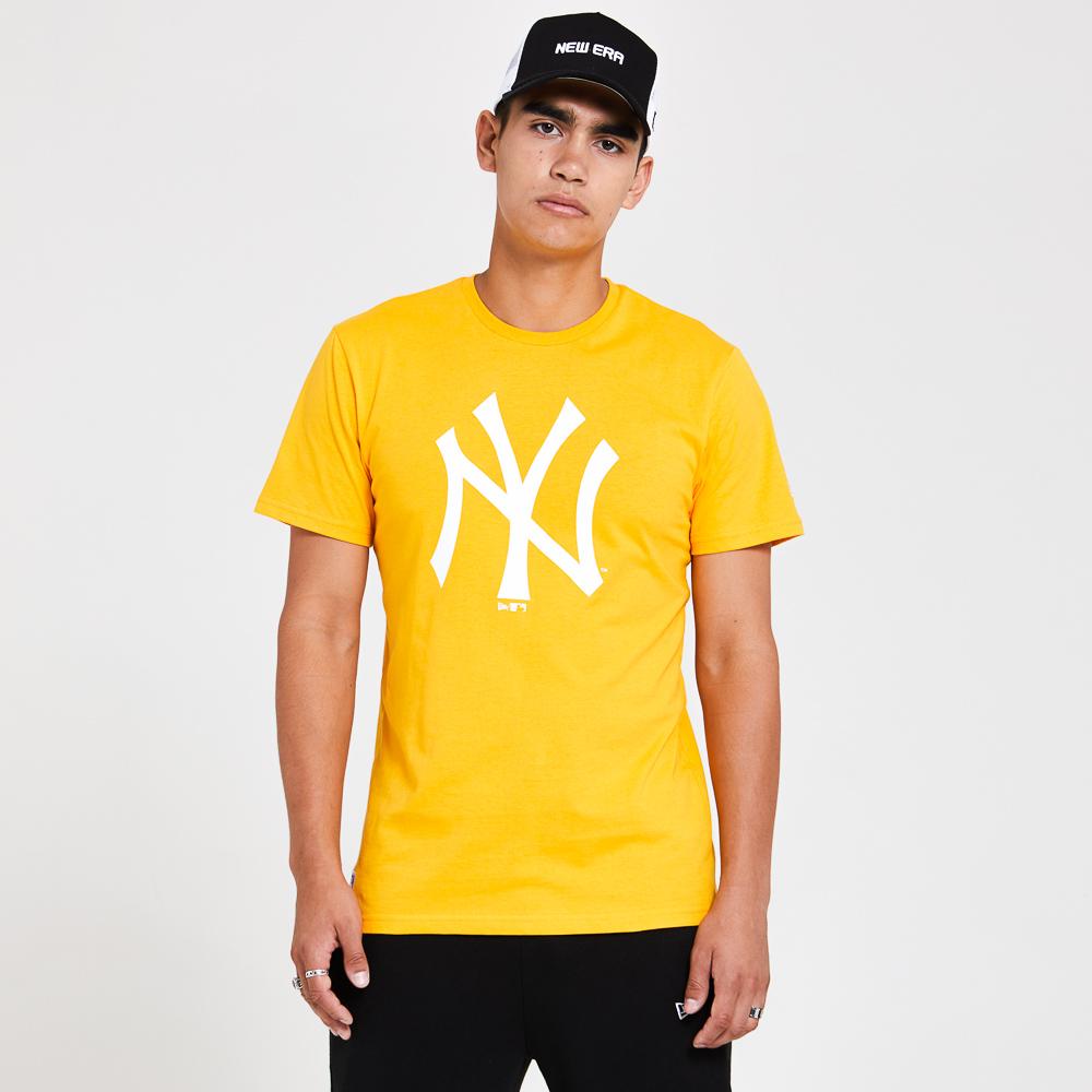 New York Yankees– Saisonales Team-T-Shirt in Gelb
