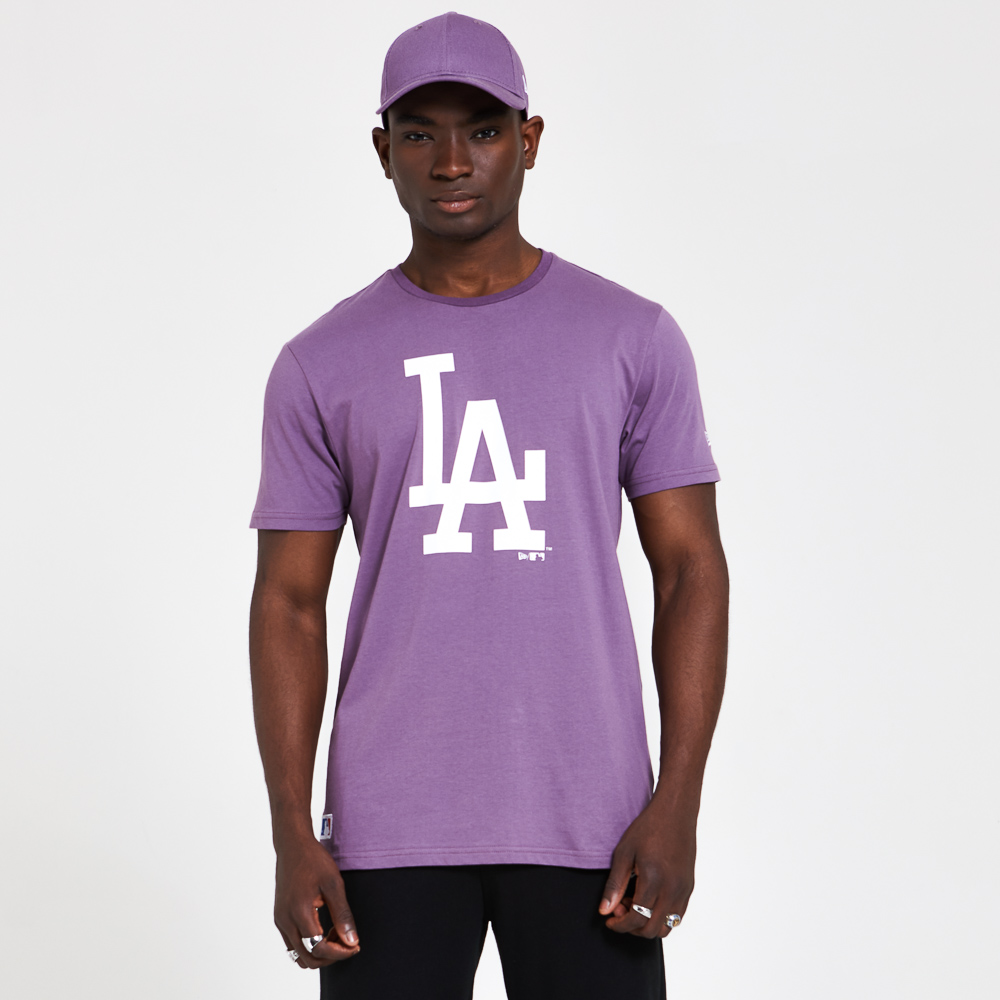 Los Angeles Dodgers – Saisonales Team-T-Shirt in Lila